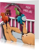 Felicitatiekaarten - Geboortekaart - It's a Girl