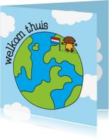 Felicitatiekaarten - Geboortekaartje Adoptie Wereld