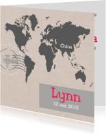 Geboortekaartjes - Geboortekaartje Lynn