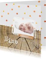 Geboortekaartjes - Geboortekaartje_Nino_herfst