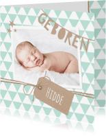Geboortekaartjes - Geboortekaartje Slinger Geboren