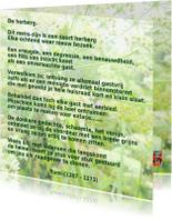 Gedichtenkaarten - Gedicht De Herberg van Rumi IW