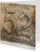 Verjaardagskaarten - gefeliciteerd 52