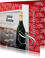 Verjaardagskaarten - Gefeliciteerd met champagne 2 OT