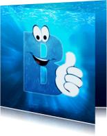 Geslaagd kaarten - Geslaagd - Zwemdiploma B water