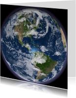 Vakantiekaarten - Globe
