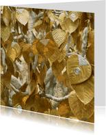 Religie kaarten - gouden offerblaadjes