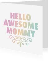 Moederdag kaarten - Grappig engels moederdag