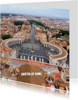 Vakantiekaarten - Groeten uit Rome,  Sint-Pieter