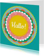 Zomaar kaarten - Hallo bloem