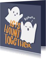 Halloween kaarten - Halloween Haunting
