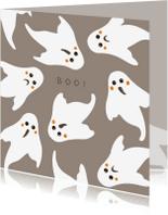 Halloween kaarten - Halloween kaart Boo! - HB