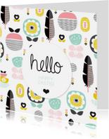 Paaskaarten - happey easter vrolijk pasen