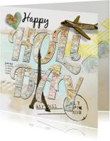 Vakantiekaarten - Happy Holiday - SG