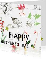 Moederdag kaarten - Happy mother's day