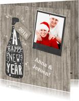 Kerstkaarten - Happy New Year foto