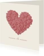 Liefde kaarten - Hartjes JVT