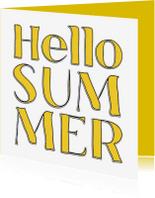 Vakantiekaarten - Hello Summer - SG