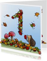Herfst verjaardag 1 Anet Illustraties