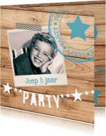 Kinderfeestjes - hippe kinderfeestuitnodiging