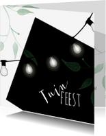 Uitnodigingen - Hippe uitnodiging tuinfeest