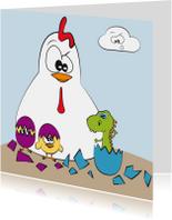 Paaskaarten - holy chicken