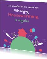 Uitnodigingen - Housewarming huis 2