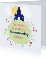Uitnodigingen - Housewarming kasteel 1