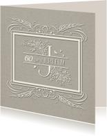 Jubileumkaarten - Huwelijksjubileum 60 jaar - SG