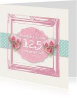 Jubileumkaarten - Huwelijksjubileum romantisch rozen