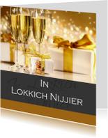 Fryske kaartsjes - In Lokkich Nijjier 4