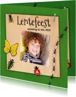 Communiekaarten - Insecten lente uitnodiging-isf