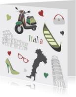 Vakantiekaarten - Italia Italy