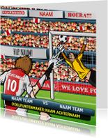 Verjaardagskaarten - Jij Bent De Ster Voetbal Kaart