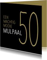 Jubileumkaarten - jubileum mijlpaal 50