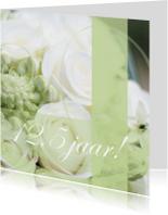 Jubileumkaarten - Jubileumkaart met rozen