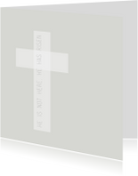 Paaskaarten - Kaart Kruis