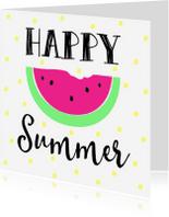 Vakantiekaarten - Kaartje Happy Summer - WW