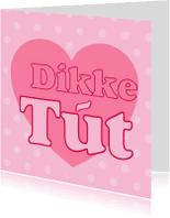 Fryske kaartsjes - Kaartsje DIkke Tut