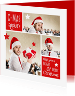 Zakelijke kerstkaarten - Kerst Collage zakelijk - OT