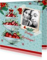Kerstkaarten - Kerst standaard vintage