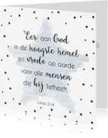 Kerstkaarten - Kerstkaart bijbeltekst 1 - WW