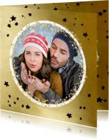 Kerstkaarten - Kerstkaart confetti cirkels - OT