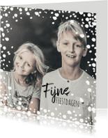 Kerstkaarten - Kerstkaart grote foto met sneeuw-IP