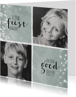 Kerstkaarten - Kerstkaart met twee foto's 2019