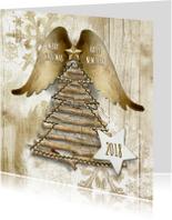 Zakelijke kerstkaarten - Kerstkaart natural 2018 - SG