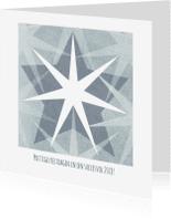 Zakelijke kerstkaarten - Kerstkaart patroon sterren-IP
