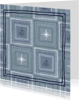 Kerstkaarten - Kerstkaart sterren-kerstbomen-IP