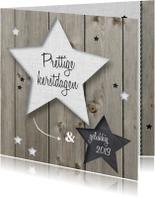 Zakelijke kerstkaarten - Kerstkaart sterren - lovz
