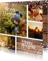Kerstkaarten - Kerstkaart warm en sfeervol